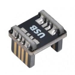 Adaptateur USB-B Mâle Coudé vers USB-B Mâle 2.0