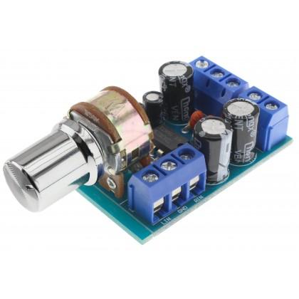 Module amplificateur Stéréo TDA2822M 2x1W