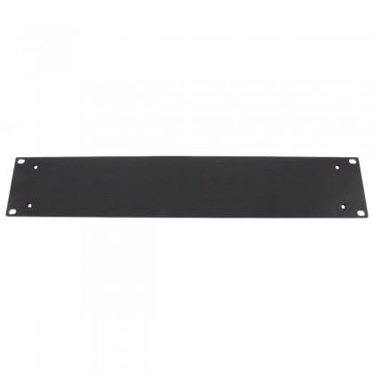 HIFI 2000 Facade aluminium 4mm Noir pour boitier 2U