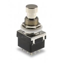 Interrupteur Aluminium Type Pédale d'instrument 3NO3NC Ø12mm