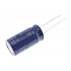 Condensateur Électrolytique Aluminium 10V 4700µF