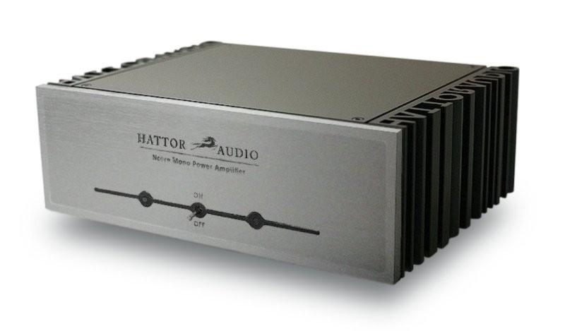 HATTOR NC500MP Mono Class D Amplifier NCore 1x500W 4 Ohm Silver