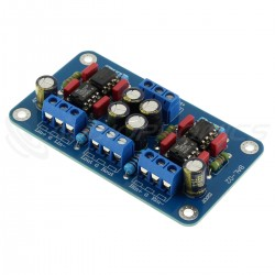 Balanced to Unbalanced Converter Module SSM2141 NE5534P
