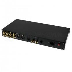 Préamplificateur Symétrique RCA XLR 10x NE5534D 4x NE5532D Potentiomètre ALPS avec Télécommande