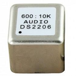 DS2206 Transformateur audio 600:10K (à linker avec produit ci-dessus!)