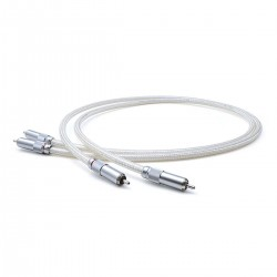 OYAIDE AZ-910 RCA Interconnect Cable 5N Pure Silver Triple Shielding 1m
