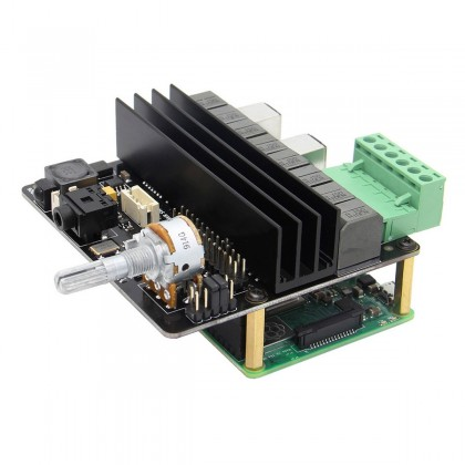 X450 Module DAC Amplificateur Class D ES9023 2x TPA3116D2 2x100W 4 Ohm 24bit 192kHz