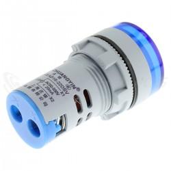 Voltage Display Voltmeter with Blue LED 60-500VAC