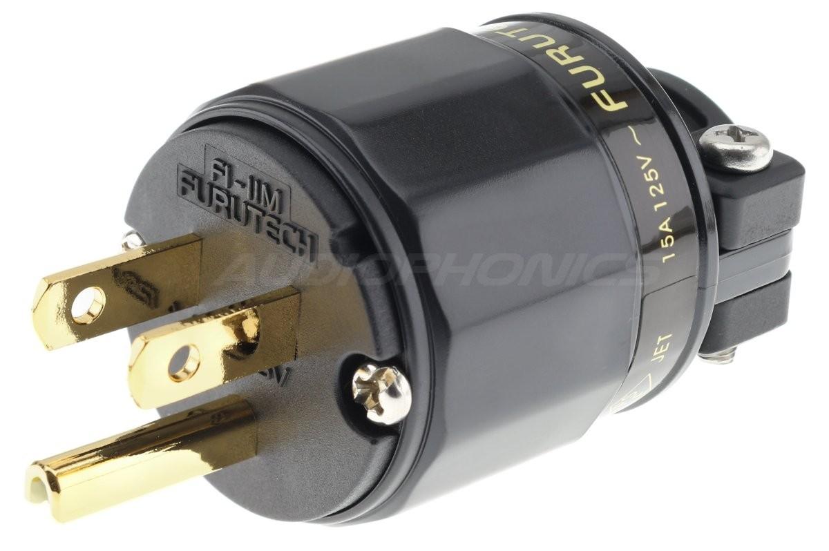 FURUTECH FI-11M-N1 (G) US Power Connector NEMA 5-15 Ø16mm
