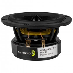 DAYTON AUDIO RS100P-4 Reference Speaker Driver Woofer 30W 4 Ohm 88dB 85Hz - 13500Hz Ø10.2cm