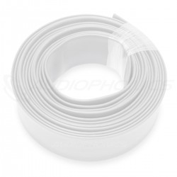 Gaine Thermo Rétractable 2:1 Ø19mm 1m (Blanche)