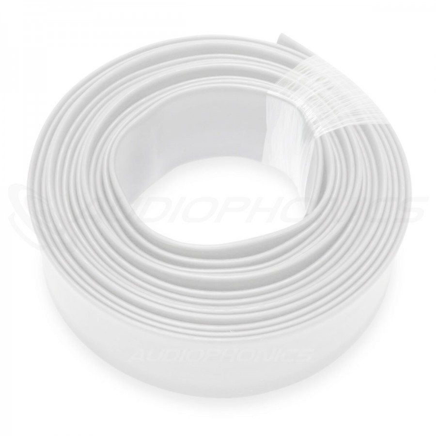 Gaine Thermo Rétractable 2:1 3,5 mm Diam Blanc 1m