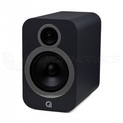 Q ACOUSTICS 3030I Bookshelf Speaker 2 Way 88dB 46Hz - 30kHz Graphite Black (Pair)