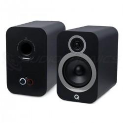 Q ACOUSTICS 3030I Bookshelf Speaker 2 Way 88dB 46Hz - 30kHz Graphite Black (Pair)