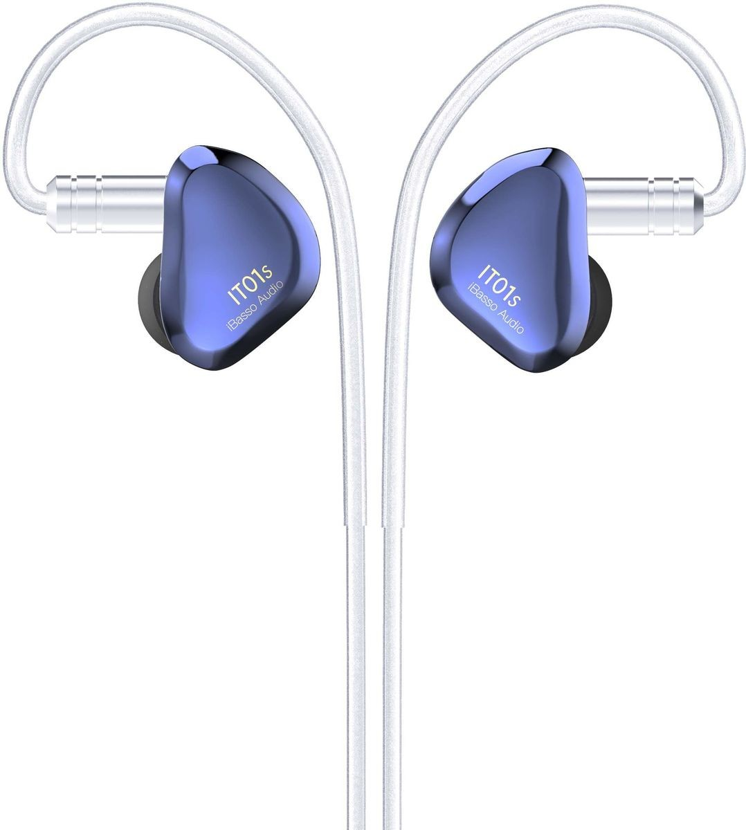 IBASSO IT01S In-Ear Monitor Dynamic Driver Nanotube Diaphragm Ø10mm 16 Ohm Blue