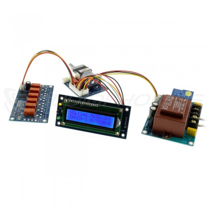 Input Selector Volume Control Module with LCD Screen and Remote Control