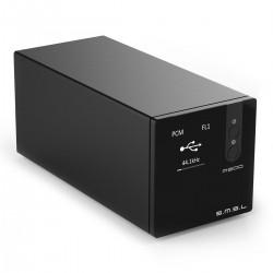 SMSL M300 MKII DAC AKM AK4497 XMOS 32bit 768kHz DSD512 Bluetooth 5.0 Apt-X Black