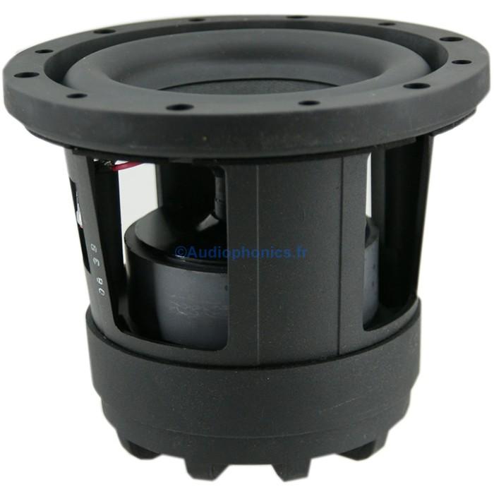 MONACOR RAPTOR-6 Speaker Driver Subwoofer Compact 100W 4 Ohm 88dB Ø16cm