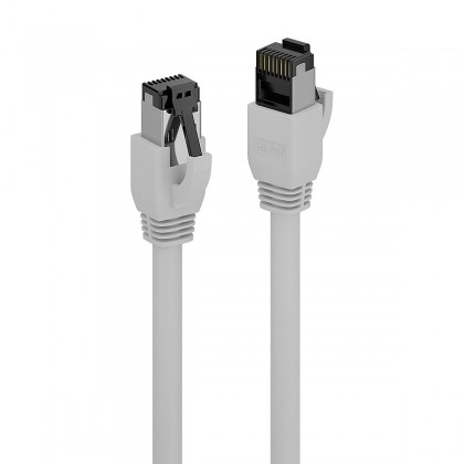 LINDY Câble Ethernet RJ45 Cat 8.1 S/FTP LSZH Plaqué Or 1m