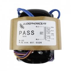 Transformateur R-CORE 30VA 2x115 vers 12-0-12V + 1x9V