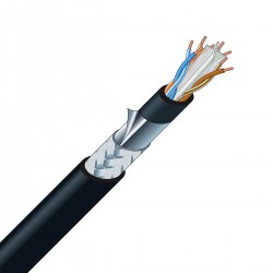 CANARE RJC6-4P-SFM Ethernet Cable Cat 6 SF/UTP 8x0.26mm² Ø8.6mm