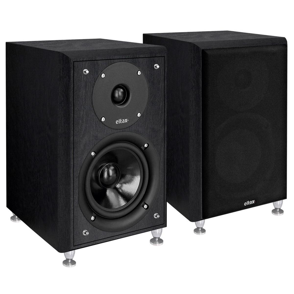 ELTAX MONITOR III Bookshelf Speaker 2 Ways 90W 89db 50Hz-22kHz Black (Pair)