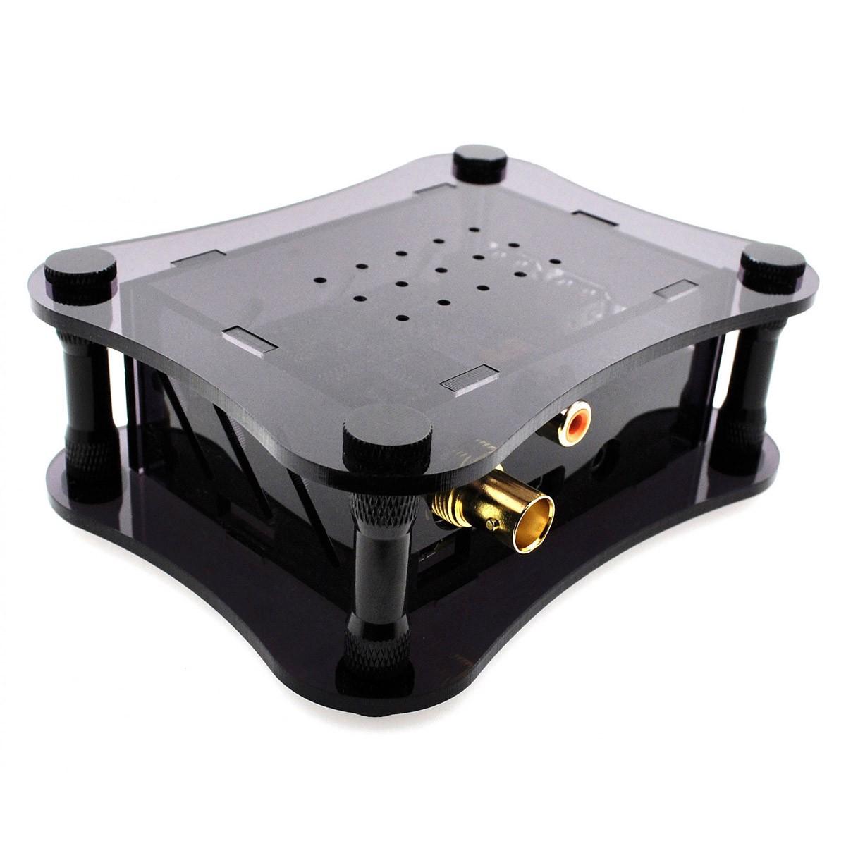 ALLO DIGIONE PLAYER Lecteur Réseau Raspberry Pi 4 Interface Digitale DigiOne Volumio Pré-Installé Noir