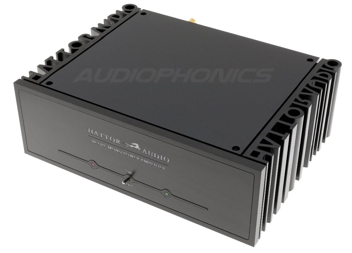 HATTOR NC500MP Mono Class D Amplifier NCore 1x500W 4 Ohm Black