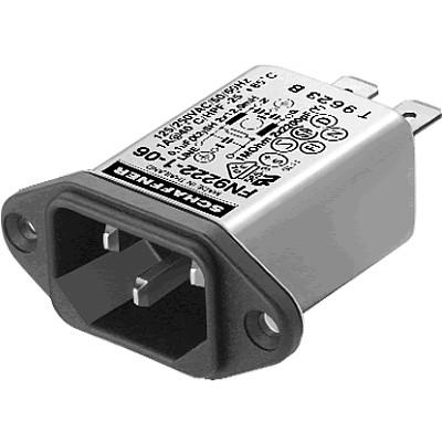 SCHAFFNER FN9222 Filtre Secteur IEC Anti-Parasites / EMI 230V 1A