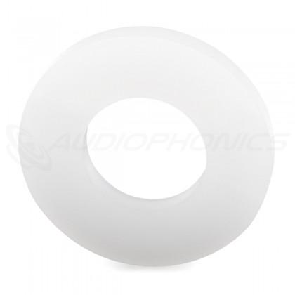 Rondelle Plate Nylon. M10 x 2.5mm (x10)
