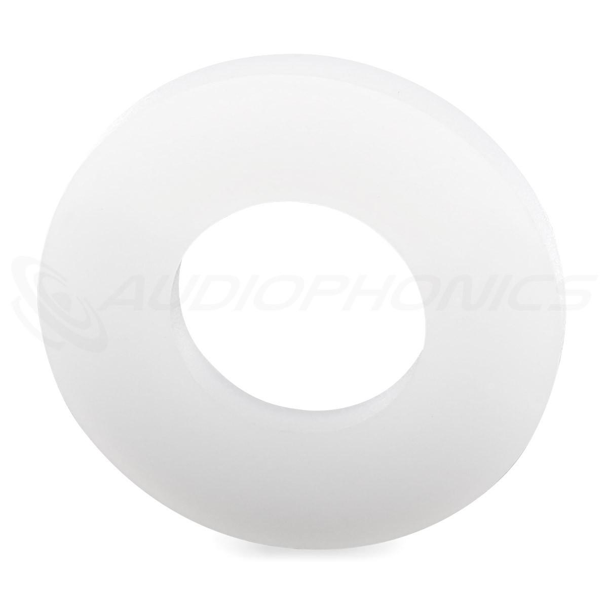 Rondelle Plate Nylon M10x2.5mm (x10)