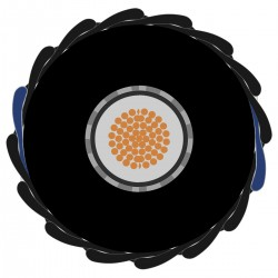 SOMMERCABLE CLASSIQUE Câble Asymétrique Ø 6.5mm