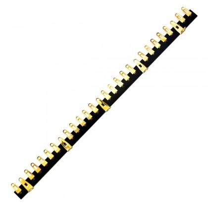 JANTZEN AUDIO 012-0370 Solder Tag Strip 28 Pins Gold Plated