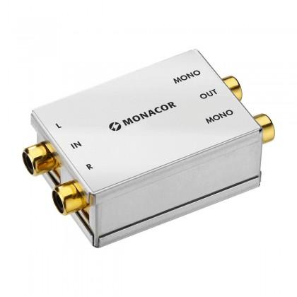 MONACOR SMC-1 Stereo to Dual Mono Converter RCA