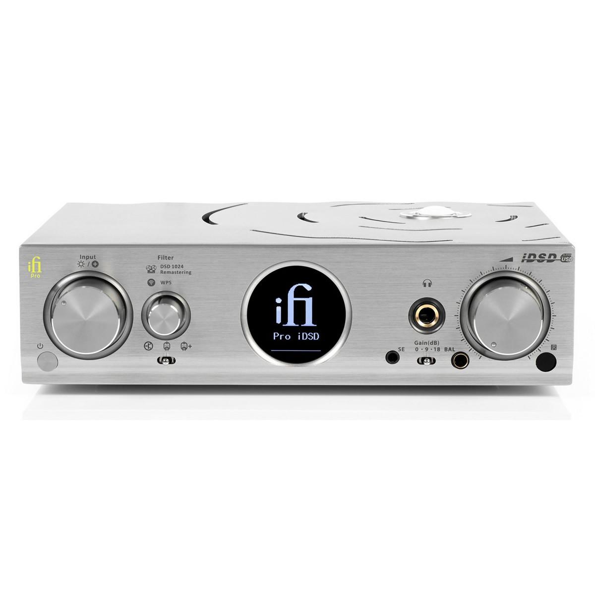 IFI AUDIO PRO iDSD V2 DAC BitPerfect 4x Burr Brown 32bit 768kHz DSD1024 Balanced