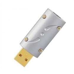 VIBORG UA201 Connecteur USB-A 2.0 Mâle Plaqué Or 24k Ø8.5mm