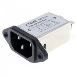 Embase IEC C14 Filtre Secteur EMI / RFI 230V 10A