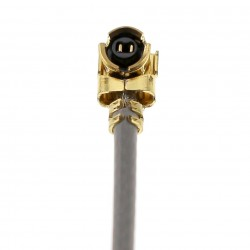 """""""IAN CANADA Câble U.FL Coaxial Plaqué Argent 6cm 2.5"""""""" double-ended silver plated U.FL coaxial cable"""""""