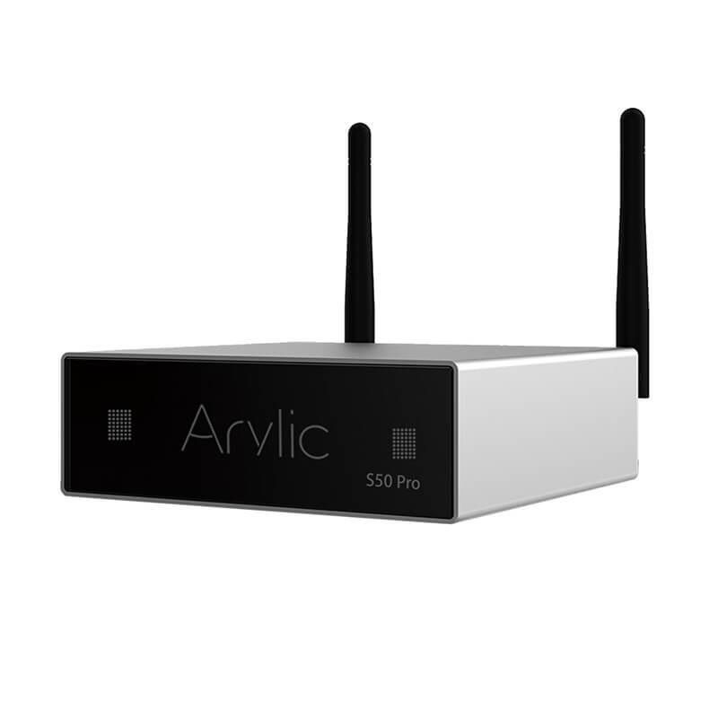 ARYLIC S50 PRO Lecteur Réseau Multiroom WiFi Bluetooth Apt-X HD DAC ES9023 ADC AK5720