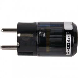 OYAIDE P-004e Connector Schuko Beryllium + Platinum / Palladium Ø 17m