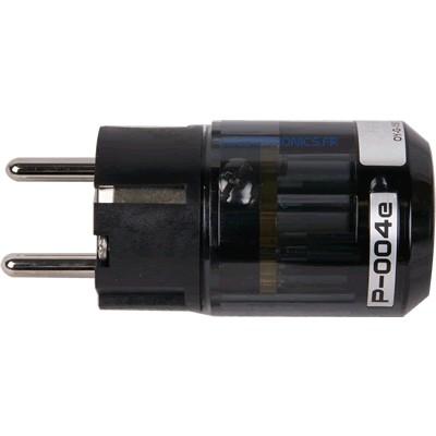 OYAIDE P-004e Connector Schuko Beryllium + Platinum / Palladium Ø17m
