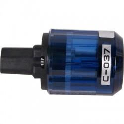 OYAIDE C037 - Connecteur IEC Bronze Phosphoré + AG + Rh Ø17mm