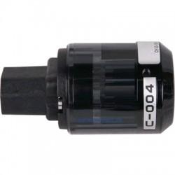 OYAIDE C-004 Connecteur IEC Beryllium + Platine/Palladium Ø 17mm