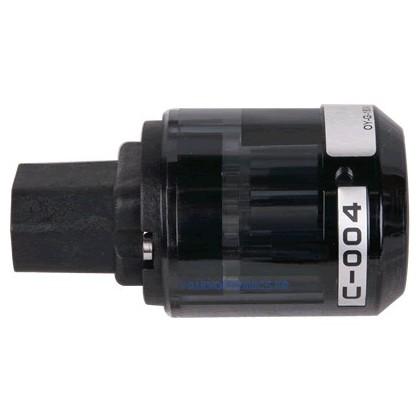 OYAIDE C004 - Connecteur IEC Beryllium + Platine/Palladium Ø17mm