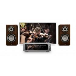 ROSE RS201E Media Center DAC 32bit / 384kHz avec Amplificateur 2x50W
