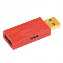 IFI AUDIO IDEFENDER+ Filtre Anti Boucle de Masse USB-A Mâle vers USB-A Femelle