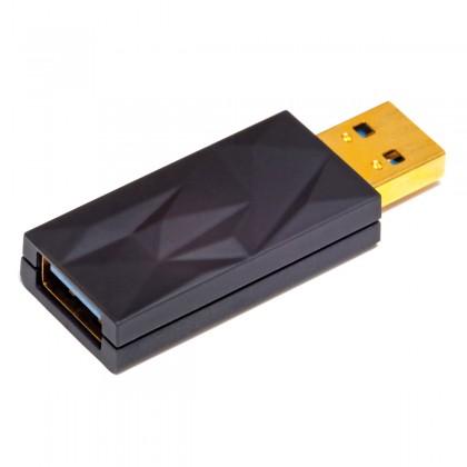 IFI AUDIO ISILENCER+ EMI RFI Noise Suppressor Male USB-A to Female USB-A