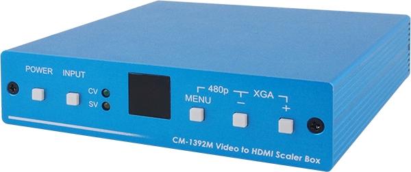 CYP CM-1392M Scaler Composite / S-Video vers HDMI 1080p@50/60 Hz
