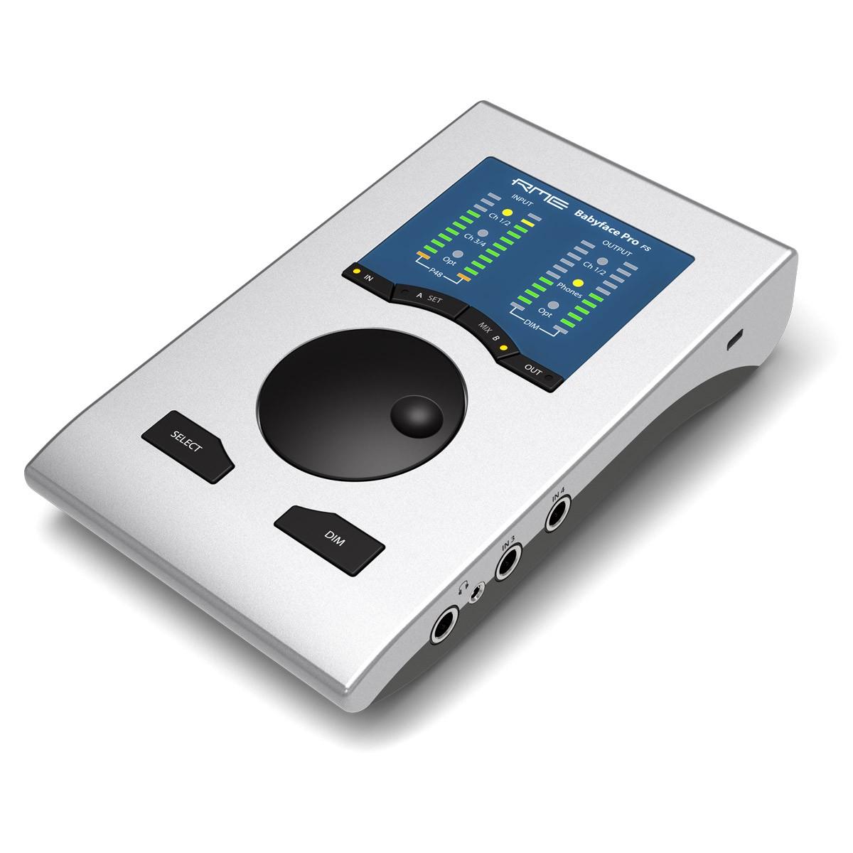 RME BABYFACE PRO FS Interface USB Numérique / Analogique Symétrique ADC 192kHz
