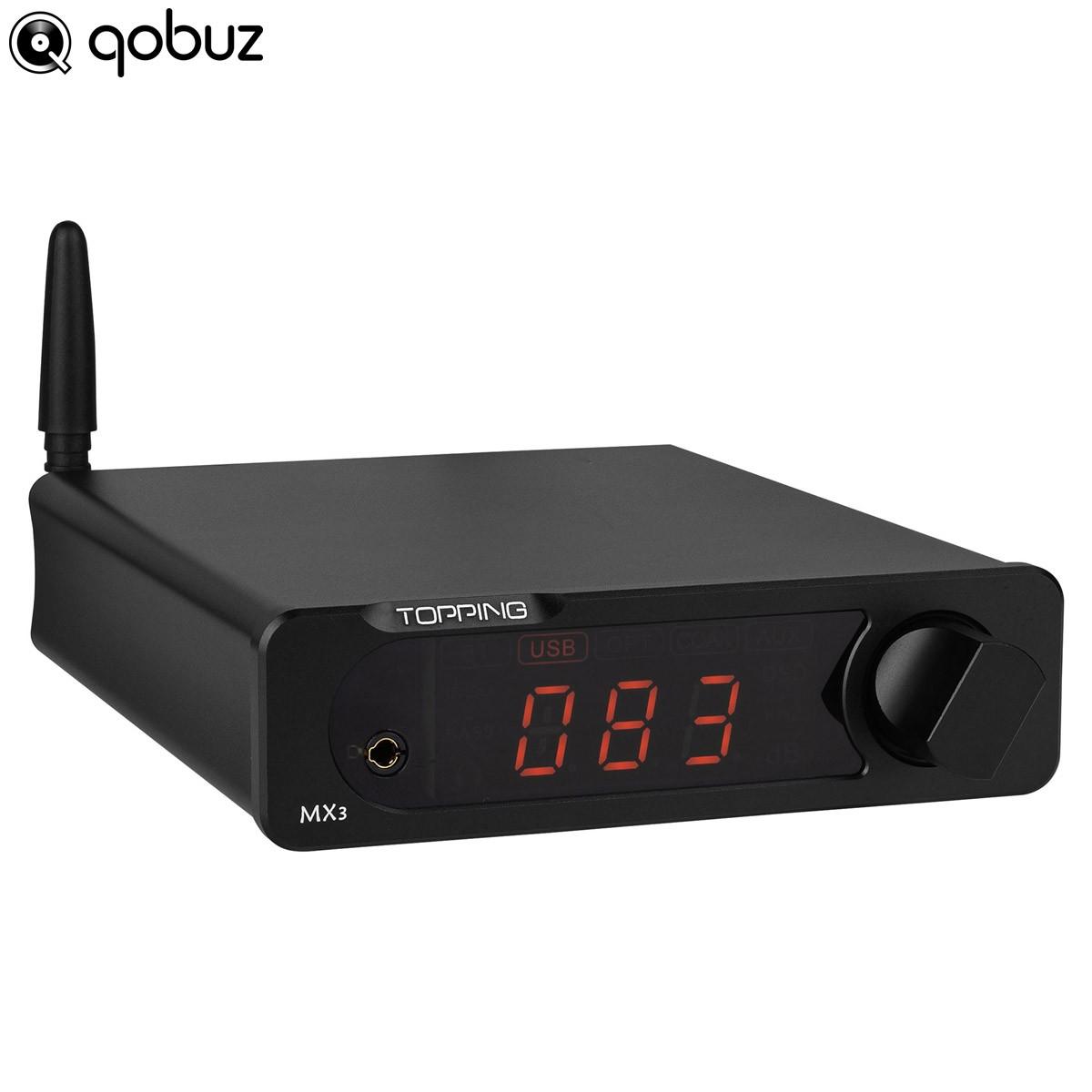 TOPPING MX3 Digital Amplifier Bluetooth 4.0 Class D 2x38W / 8 Ohm Black